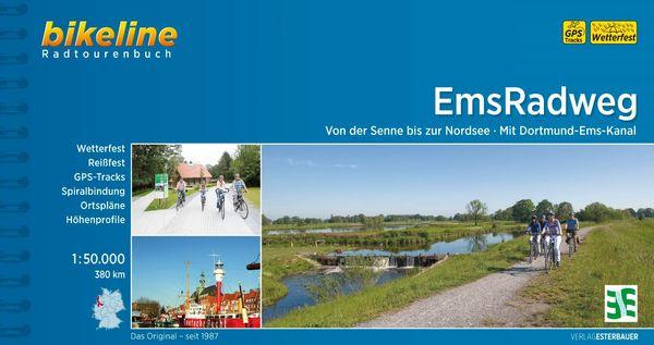 Ems-Radweg - Titelbild vom Radtourenbuch 2018