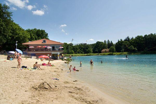 Dankernsee - Blick auf Badestrand