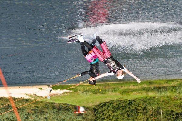 Wakeboarden auf dem Heeder See