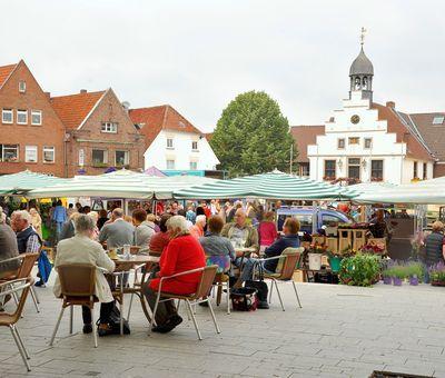 Wochenmarkt in Lingen