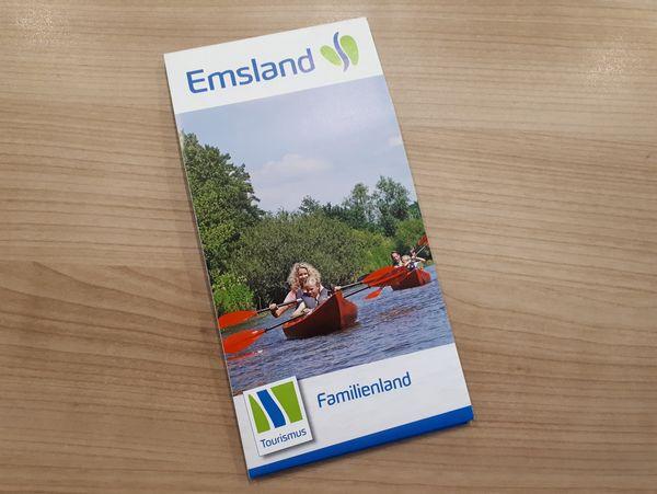Familienland Emsland - Titelbild Faltprospekt 2020