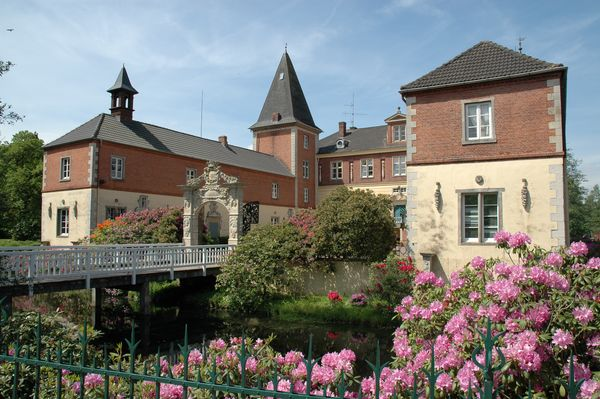 Wasserschloss Dankern in Haren (Ems)