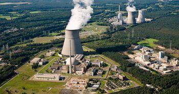 Kernkraftwerke Emsland in Lingen – Luftbild