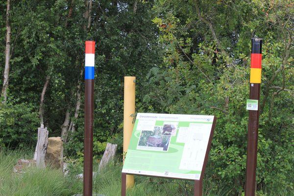 Grenzsteinroute im Naturpark Moor-Veenland – Wegweiser