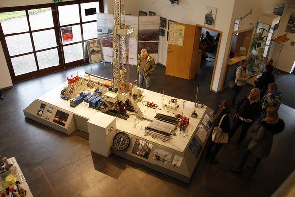 Erdöl-Erdgas-Museum Twist - Innenansicht der Ausstellung