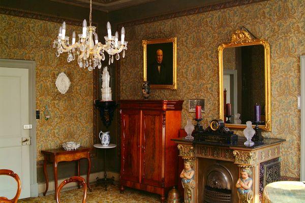 Blick in historisches Töddenzimmer in Freren