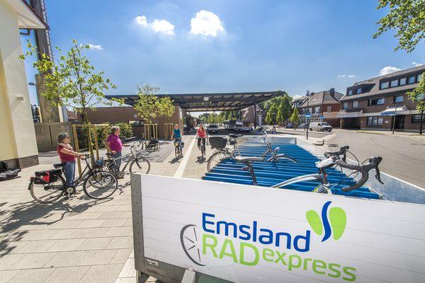 Emsland RADexpress, Fahrradbus
