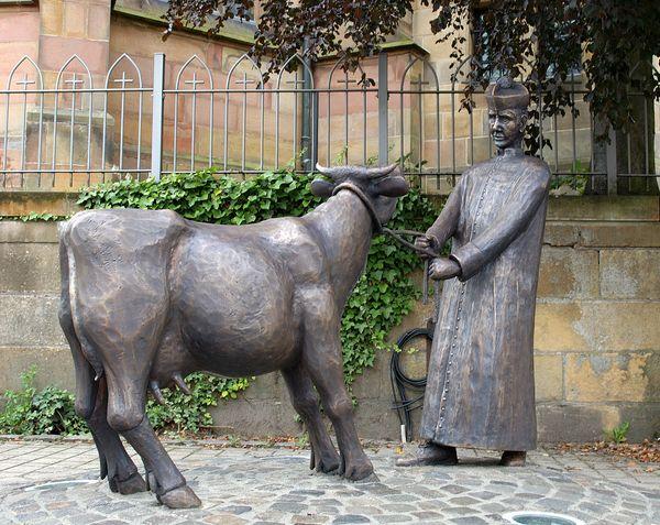 Pastor sine Koh – Denkmal in Emsbüren