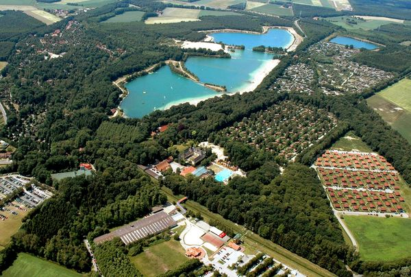 Ferienzentrum Schloss Dankern in Haren (Ems) aus der Vogelperspektive
