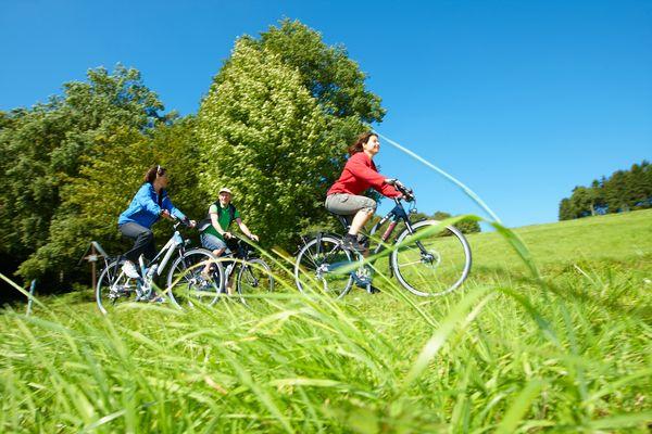 Radfahrer im Münsterland