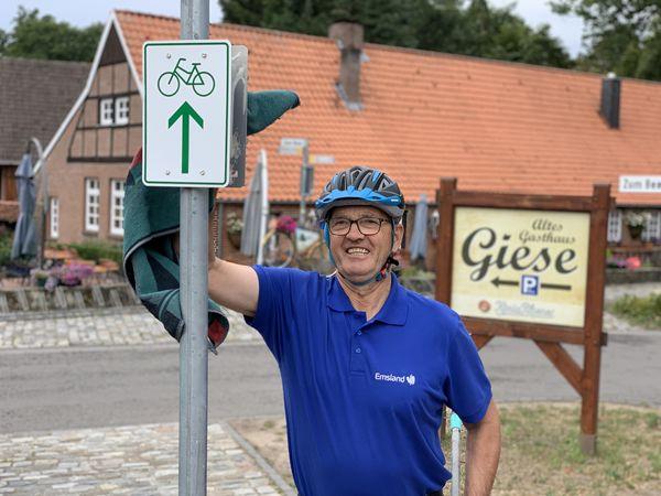 Radroutenwart Heinz Gels (Emsland-Mitte)