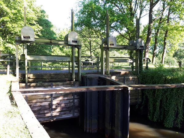 Schleusenanlage in Rhede (Ems)