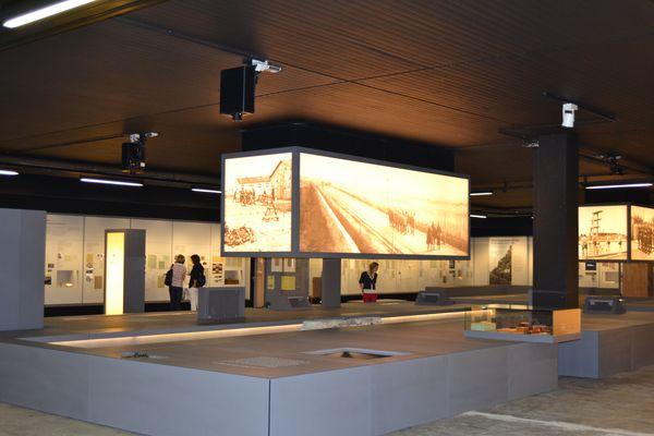 Gedenkstätte Esterwegen – Blick in Ausstellungsraum